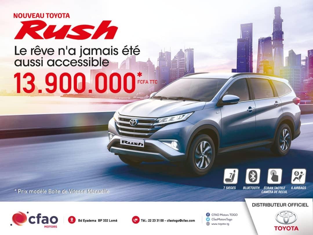 Découvrez le nouveau Toyota Rush