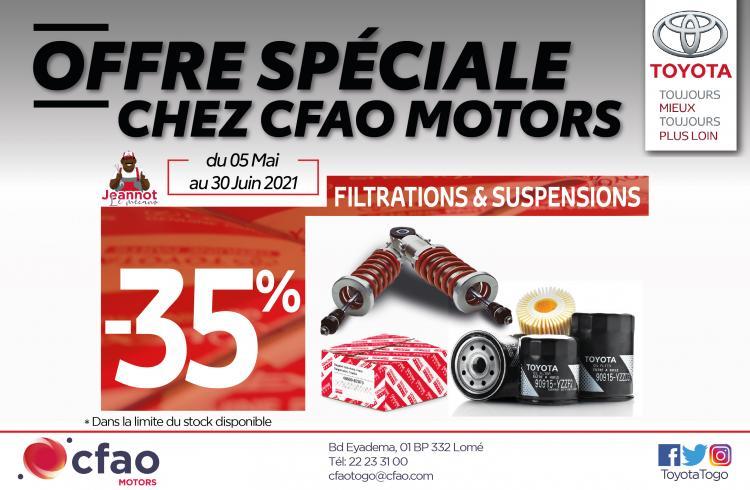Offre Spéciale CFAO Motors