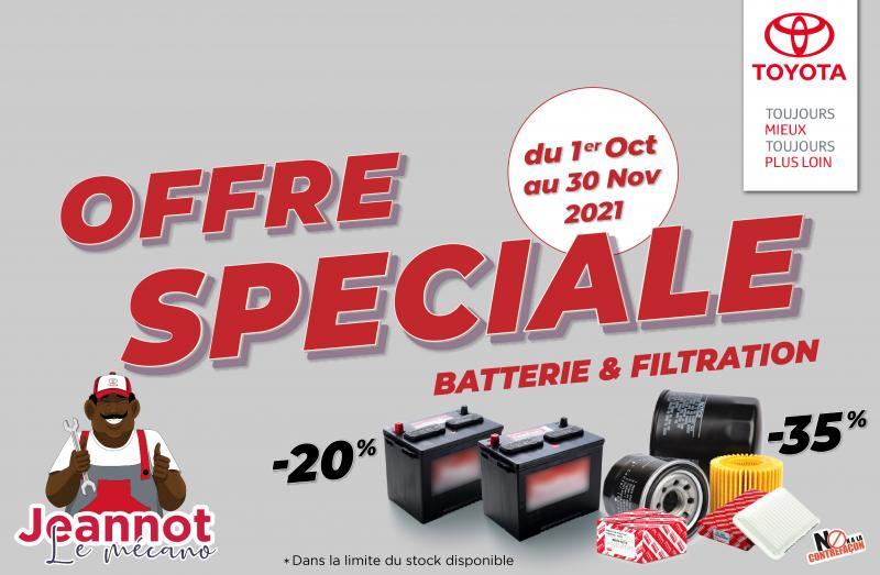 Offre Spéciale CFAO Moto Togo